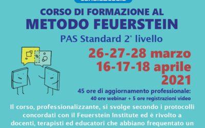 Corso di formazione al Metodo Feuerstein – Pas standard 2° livello