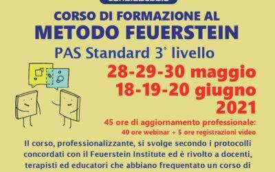 Corso di formazione al metodo Feuerstein – PAS standard 3° livello