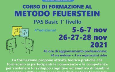 Corso di formazione al metodo Feuerstein PAS basic 1° livello